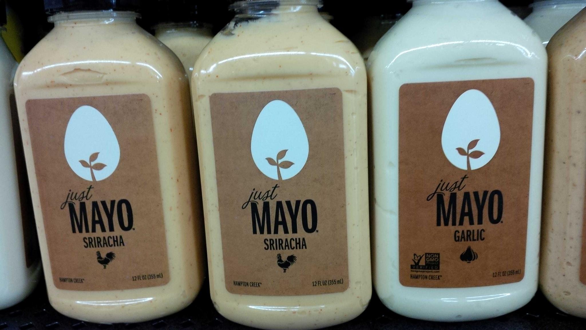 Picture of Just Mayo bottles