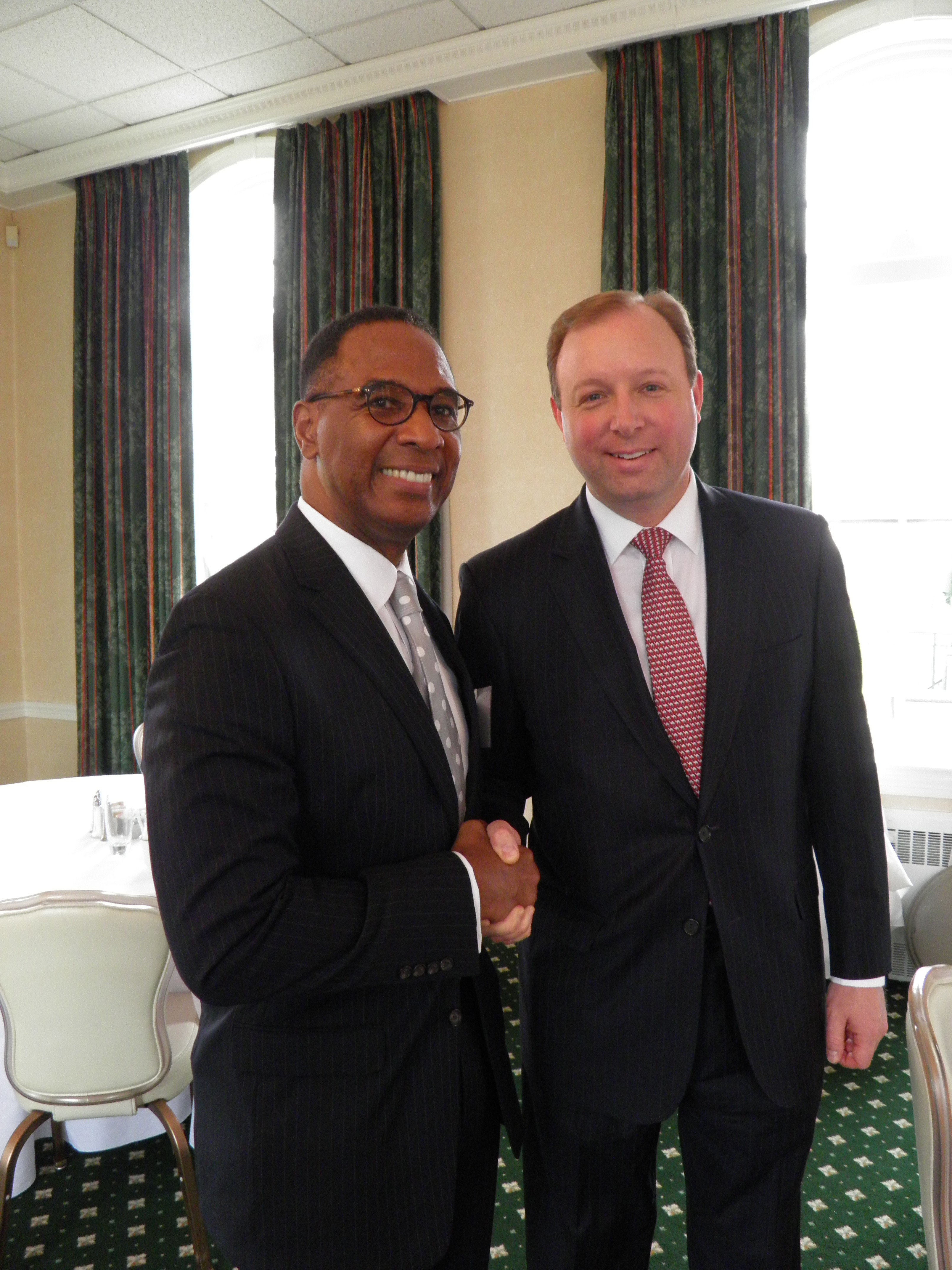 Judge Grant and Marcus Rayner